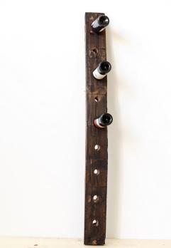 Portabottiglie falegnameria artigiana mobili su misura - Portabottiglie a muro ...